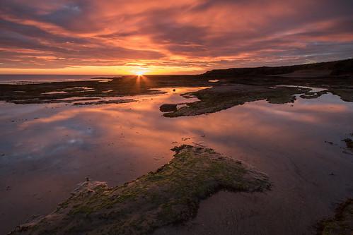 seahouses sunrise morning dawn colours reflections northumberland northumberlandcoast northeast england canon760d sigma1020mmf456exdchsm ndhardgrad12