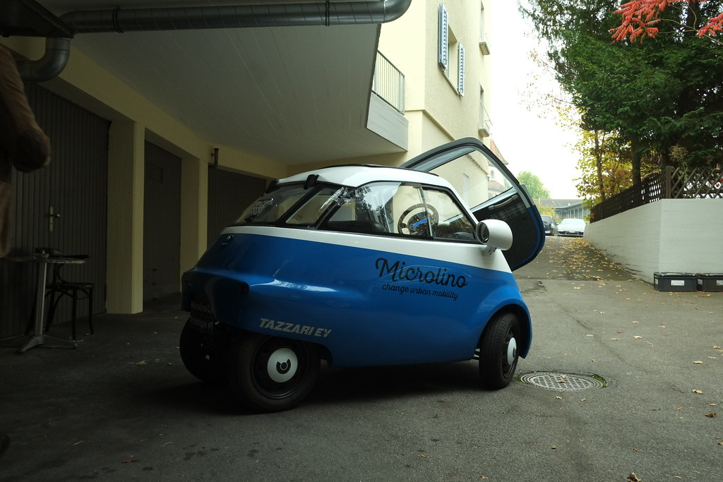 wim ouboter's microlino is an urban vehicle that fills the… | Flickr