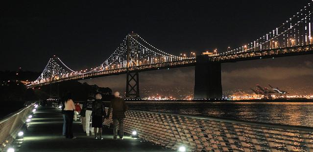 Bay Bridge Light Show