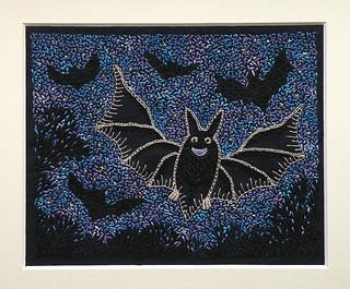 Shorleyker's Bat - stitching finished