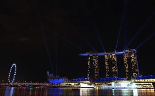Spectacular Laser and Water Show, Marina Bay Sands, Singapore | by Luke,Ma