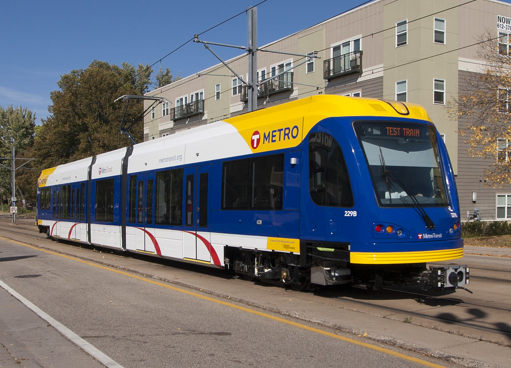 Metro Transit Test Train