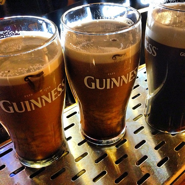3 for the ladies please. #guiness #ireland #beer #ferryman
