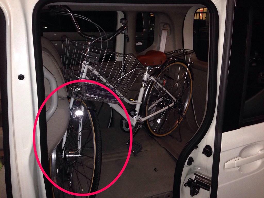 N Boxに27インチの自転車が乗った 10102012 Flickr