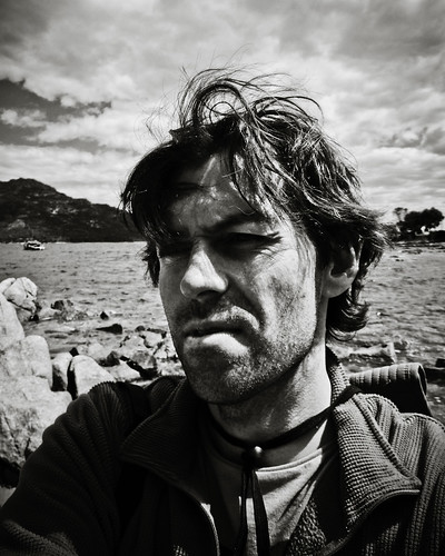 Self portrait (B&W), Coles Bay | by Tasmanian.Kris
