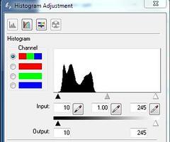 epson histogram default by pixel blind