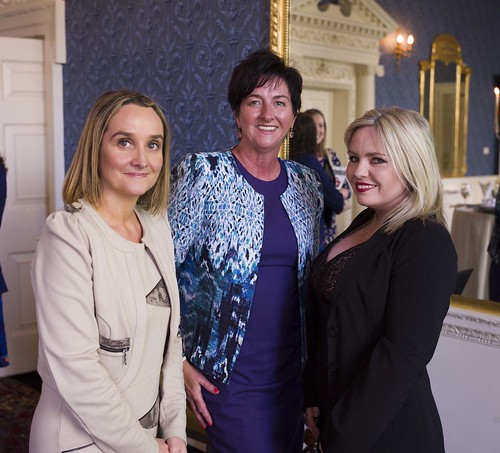 Anne Sheehan, Vodafone; Ger Lally, Lally and Associates; Noelle Campbell, Business & Finance