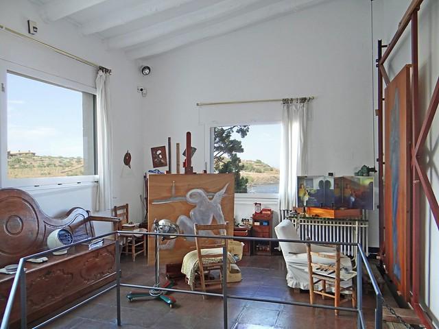 L'atelier de Salvador Dali (Portlligat, Espagne)