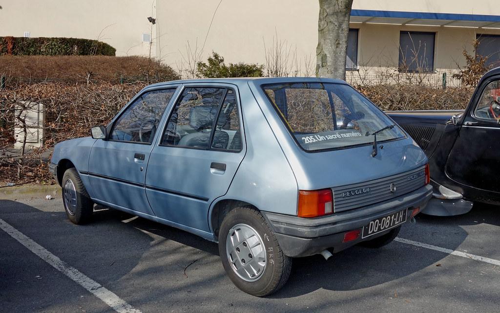 Peugeot 205 Gr 1 4  Ph