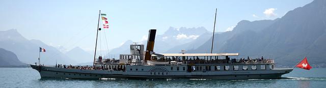 Lac Leman bateau belle epoque - atana studio
