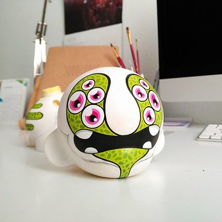 Working in a new Munny to my shop!