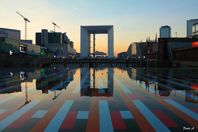 Vue de l'Arche de La Défense - Hauts-de-Seine - France