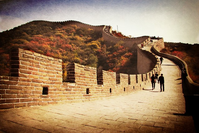 Autumn on the Great Wall ...