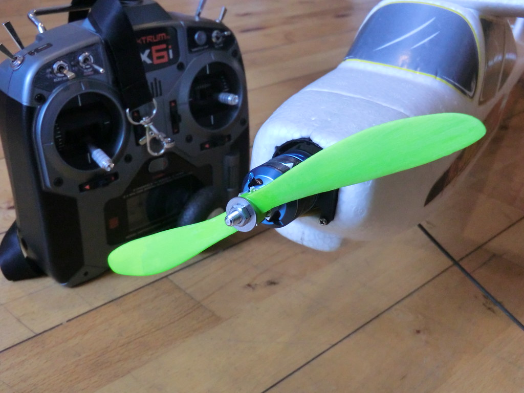 3D-printed propeller for model airplane   A 3D-printed prope