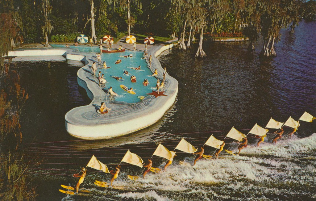 Cypress Gardens, Florida | The Esther Williams Swimming Pool… | Flickr