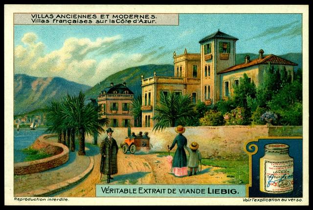 Liebig Tradecard - S1064 French Villa