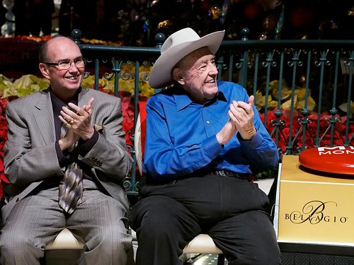 Jack McClelland and Doyle Brunson | by World Poker Tour