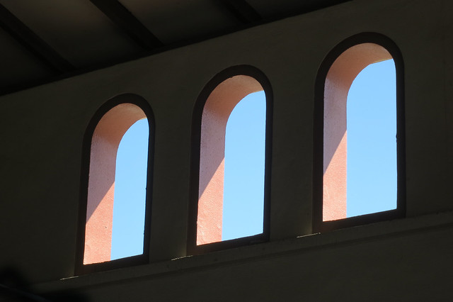 Windows in a souk