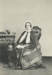 Frances Cheesman (Mrs William Cheesman) c 1860s.