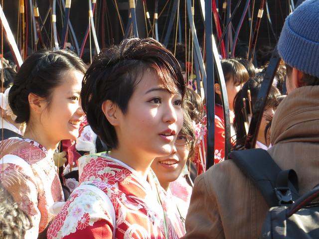 三十三間堂大的大会 / Sanjusangen-do Toshiya - Kyoto