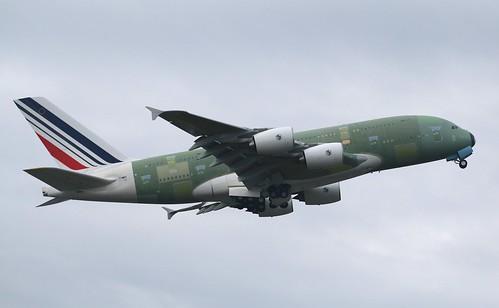 First&ferry flight msn117 F-WWSV 16/1/2014 | by A380_TLS_A350