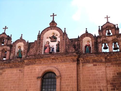 Campanarios de la  Catedral del Cusco - Perú.