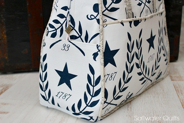 Star Amy Butler Weekender Bag