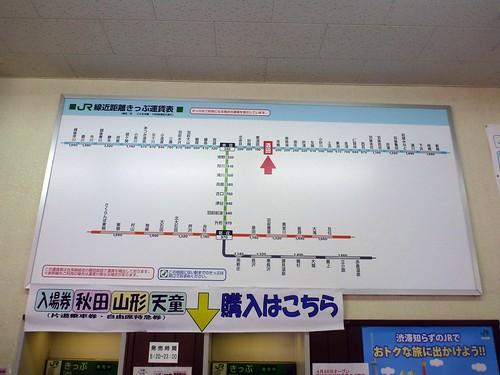 Sakata Station, JR   by Kzaral