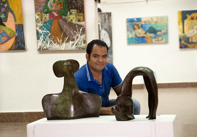 Artist Ramadan abd elmoatmed