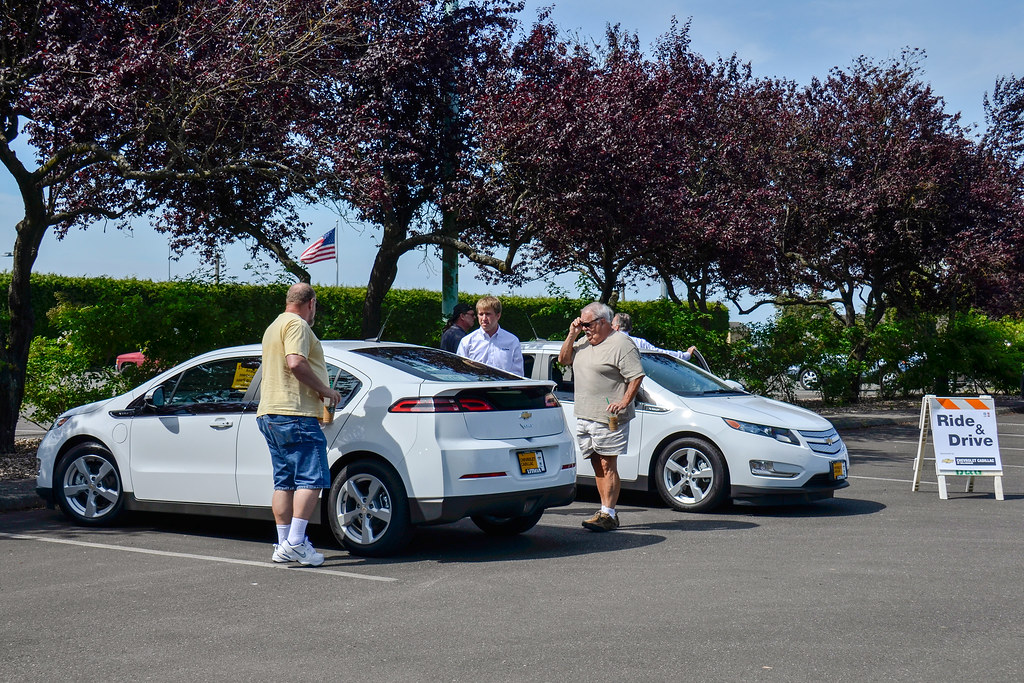 Ride & Drive a plug in electric vehicle | Attendees had a ch… | Flickr