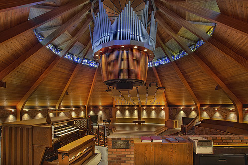 wood roof church glass architecture modern oregon portland design worship university place wind interior pipe structure ceiling stained organ musical instrument sacred bible pdx 5000 85 pinnacle lewisclarkcollege ranks casavant agnesflanaganchapel bookofgenesis bwindows