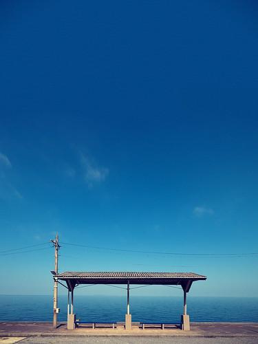 下灘駅 Shimonada Station | by かがみ~