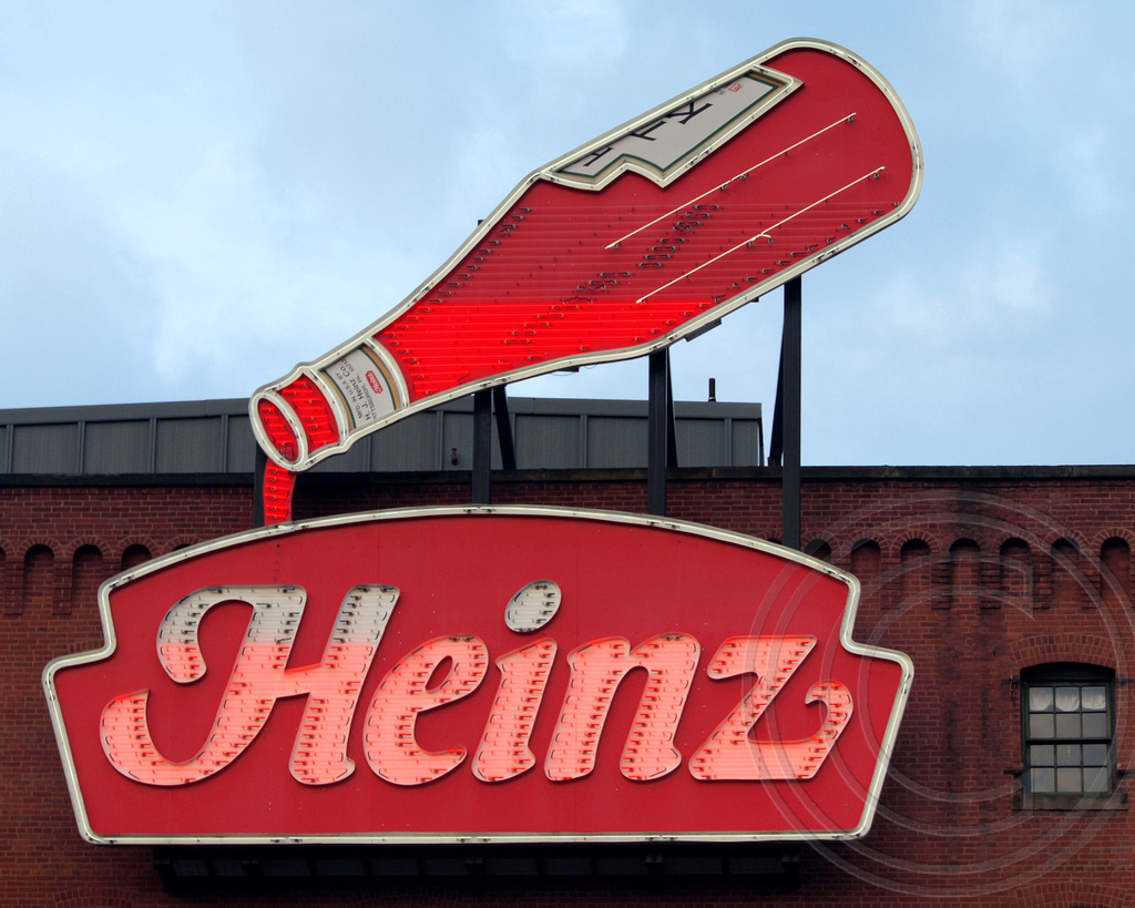 ff77de41c ... Pennsylvania Heinz Ketchup Bottle Neon Sign, Heinz History Center, Slip  District, Pittsburgh, Pennsylvania