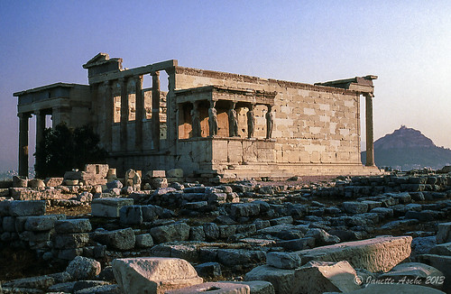 travel film sunrise 35mm ruins europe 1988 slide athens greece acropolis scannedslide attica erechtheion