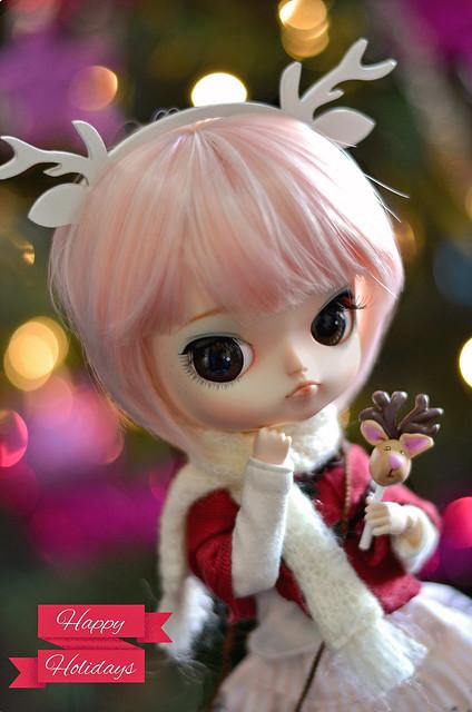 ♪ Christmas is near ♫