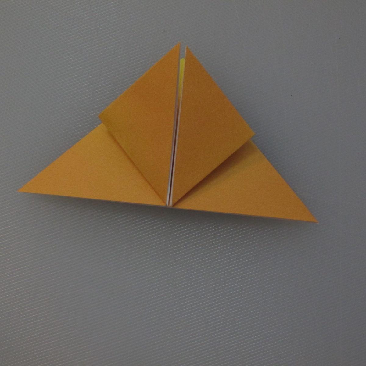 วิธีพับกระดาษเป็นดอกทิวลิป 006