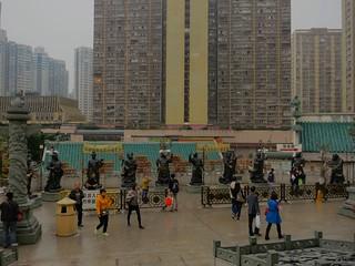 zodiac statues-Wong Tai Sin temple