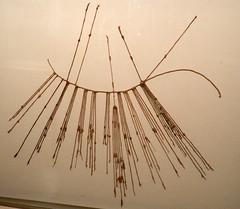 Museo Larco Lima Perú galeria textil registros de información Quipús 01
