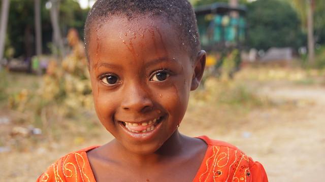 Tanzanian girl at Mafia Island