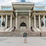 Chinggis Khan in Sükhbaatar Square