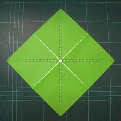 วิธีพับกระดาษเป็นรูปหอยทาก (origami Snail) 001