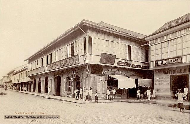 Escolta Street, Manila, Philippines, unknown date