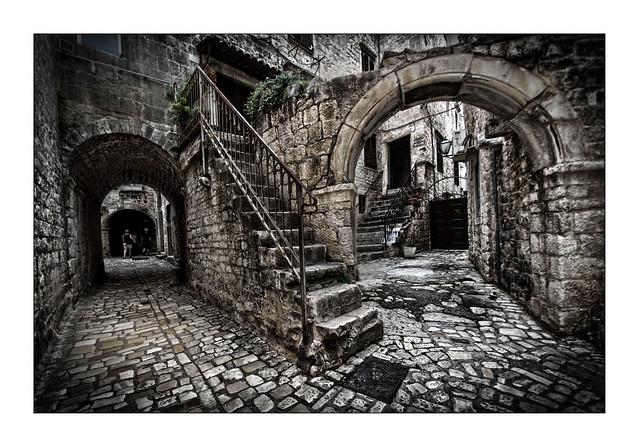 Old Street of Trogir