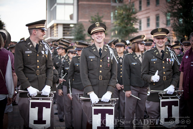 Texas A&M Corps of Cadets Gameday LSU 2016