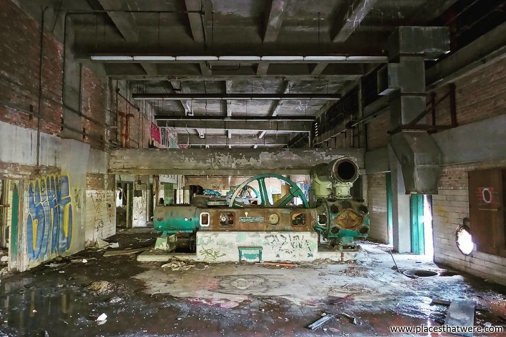 Inside the abandoned power plant  More here: http://www pl