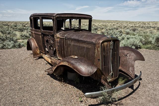 Ruta 66, Arizona Desert.