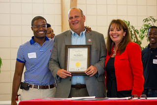 CAII Board President Brian Sealey, Executive Director Alan Abramowitz and Circuit Director Deborah Moore during the awards ceremony at Guardian ad Litem Appreciation Day on June 15, 2013 in Tallahassee, Florida. | by flguardian2