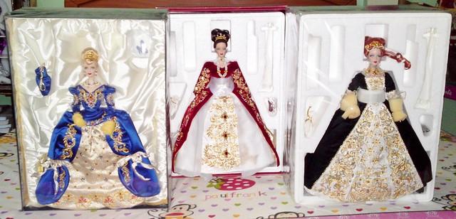 Complete Set- Faberge Porcelain Collection