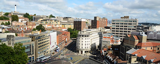 View 4/5 from St Stephen's Church towards BRI complex and Broadmead shopping area | by CarolynEaton