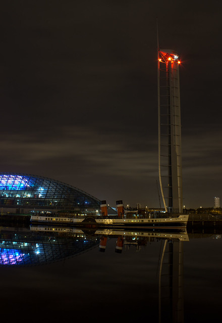 Clydeside by night
